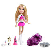 Bratz Play Sportz Rockin' Cheerleader Cloe Doll