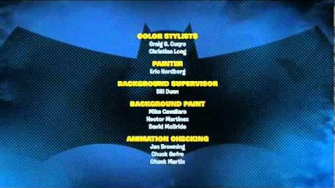 Batman The Brave and The Bold - Ending Credits