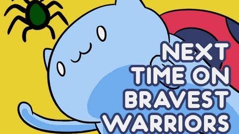 Next Time on Bravest Warriors - Gas Powered Stick on Cartoon Hangover