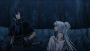 Isanami wants Saizo to stay