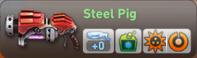 Steel pig