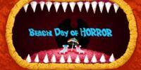 Beach Day of Horror