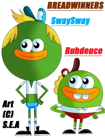 File:Breadwinners swaysway and buhdeuce by sarahskunky-d7f312d-1-.png