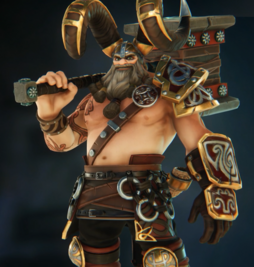Thorgrim gold skin