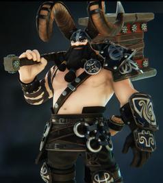 Thorgrim - Black skin