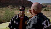 1x03 - Hank finding Walt's meth