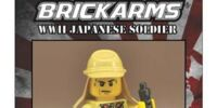 BrickArms Japanese Defender-Limited Edition Figure