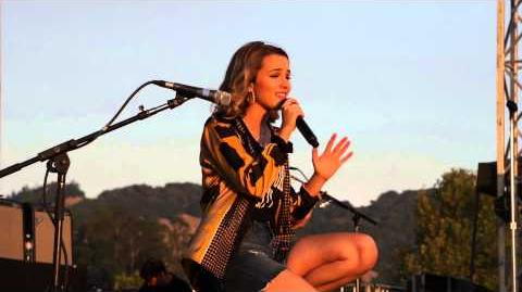 Fly To You - Bridgit Mendler - Sonoma County Fair 2015