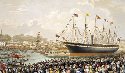 Ss-great-britain-launch