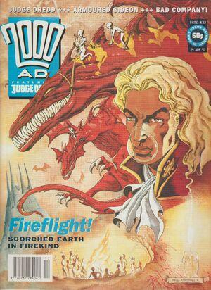 2000 AD prog 832 cover