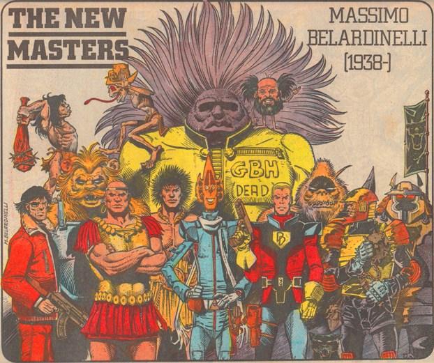 The New Masters - Massimo Belardinelli