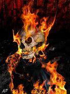 Fire fan art