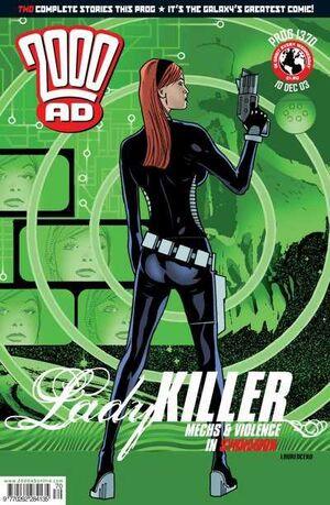 2000 AD prog 1370 cover