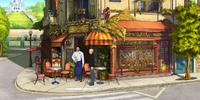 The Waiter of Café Le Tricolore