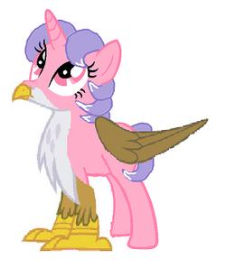 Quartz Blossom (Griffon Pony)