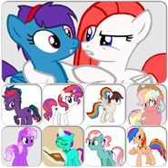 Pony OCs Collage Pandy 1