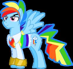 Rainbow blitz s gala suit by ghostboy100battle-d5vnb1l