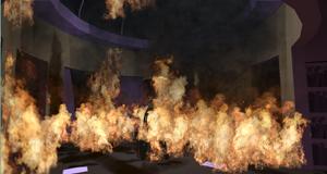 Canterlot ablaze