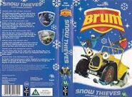 Snow Thieves VHS Cover and Rear