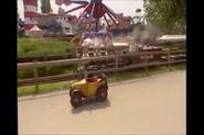 Brum at the fun park