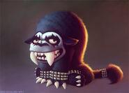 Fan Art Metal Beast