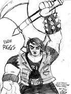 Fan Art Sketch Axe