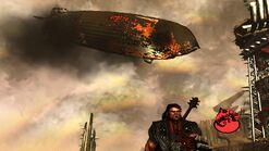Flaming Zeppelin of Lead
