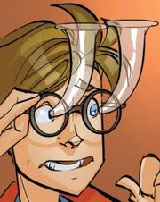 Eyedrop glasses