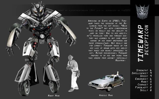 File:Timewarp DeLorean Transformers by slifertheskydragon.jpg