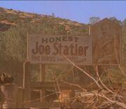 Honest Joe Statler-Sign