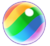 Rainbow Bubble icon