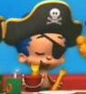 Laughing pirate