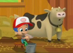 Mnilk the cow