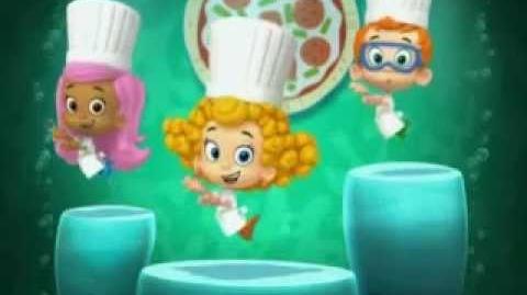 Bubble Guppies Tunes 12 Pizza Dance