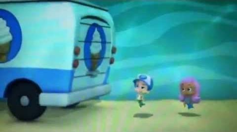Bubble Guppies Molly & Gil sketch (ice cream truck)