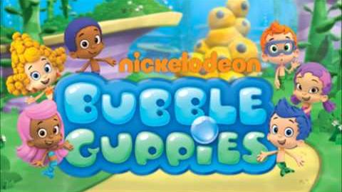 Bubble Guppies On The Beach