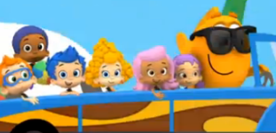 At the beach 6