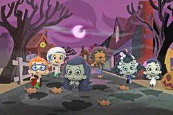 Bubble Guppies Halloween