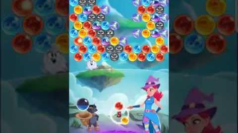 Bubble Witch 3 Saga Level 427 (First Look) Boosters