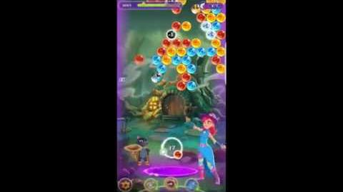 Bubble Witch 3 Saga Level 221 ~ 3 stars ~ no boosters