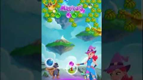Bubble Witch 3 Saga Level 435 (First Look) Boosters