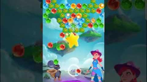 Bubble Witch 3 Saga Level 421 ~ No Boosters ⭐️⭐️⭐️