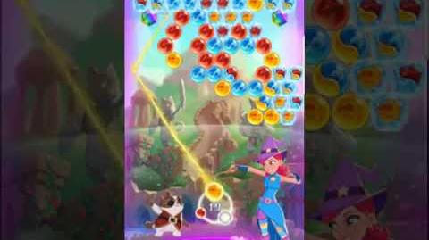 Bubble Witch 3 Saga Level 519 (First Look 👀) Boosters
