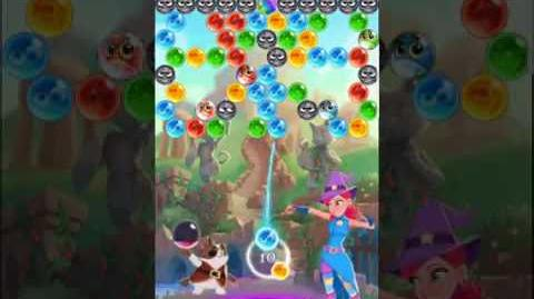 Bubble Witch 3 Saga Level 517 (First Look 👀) Boosters
