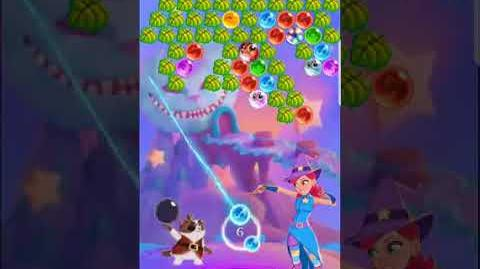 Bubble Witch 3 Saga Level 528 (First Look 👀) Boosters