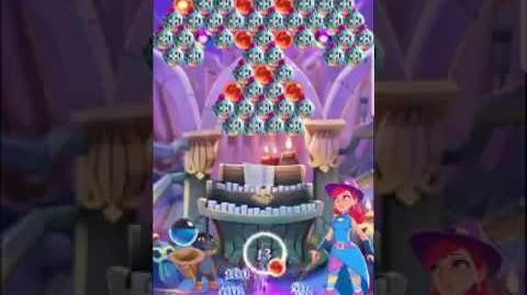 Bubble Witch 3 Saga level 454 ~ First Look (Blue Cat)