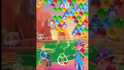 Bubble Witch 3 Saga Level 151 ~ 2 stars ~ no boosters