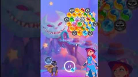 Bubble Witch 3 Saga Level 137 ~ 2 stars ~ no boosters