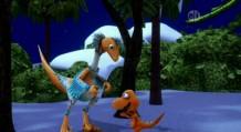 Winter troodon