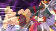Kazuchika Attacks Doble